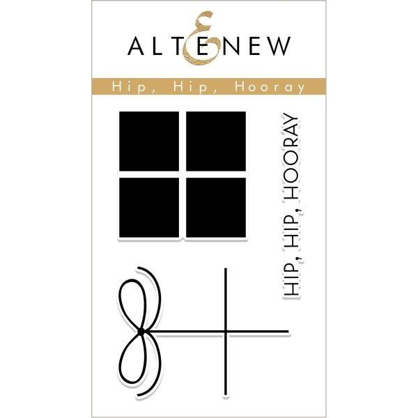 Altenew Clearstamps 2x3 Hip, Hip, Hooray