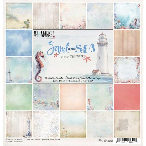 49 and Market Sand & Sea Collection Pack 12x12