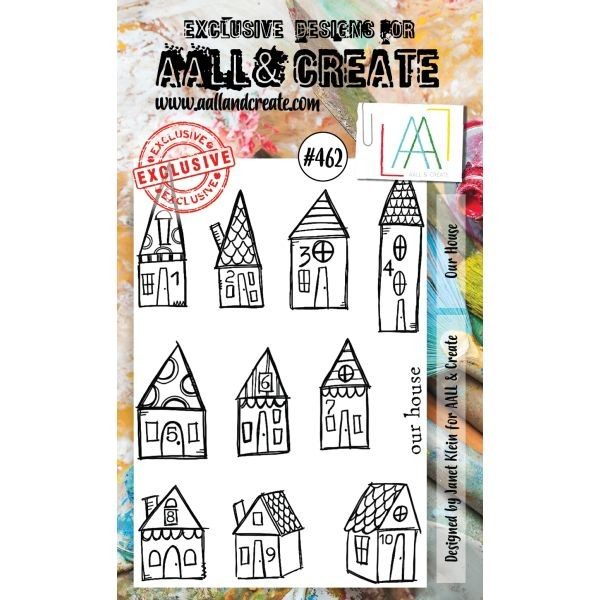 AALL & Create Clearstamps A6 No. 462 Our House