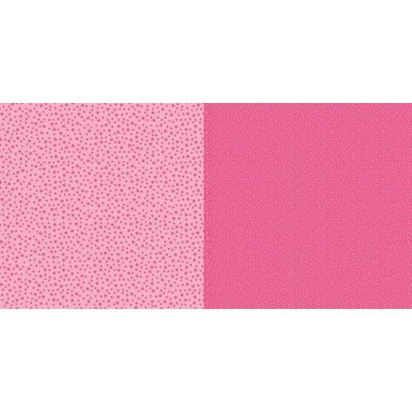 Dini Design Scrapbook-Papier Punkte & Blumen Wassermelone
