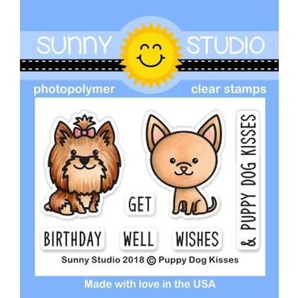 Sunny Studio Stamps Bundle Puppy Dog Kisses