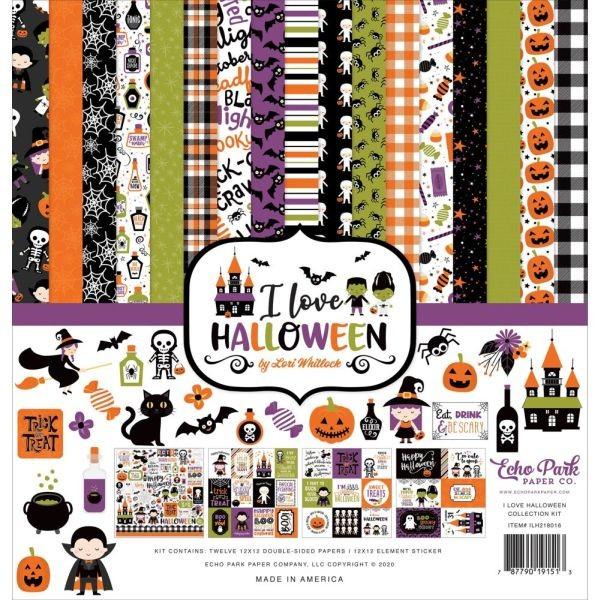 Carta Bella I Love Halloween Collection Pack