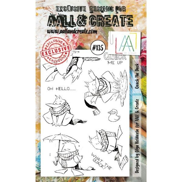 AALL & Create Clearstamps A6 No. 135