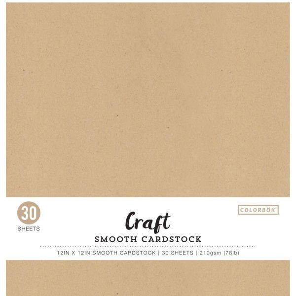 Colorbök Smooth Cardstock 12x12 Craft