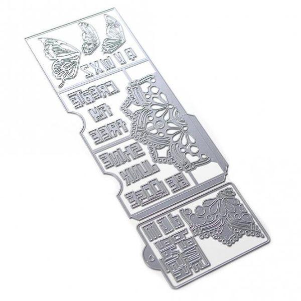 Elisabeth Craft Designs Die Butterfly Pocket Insert