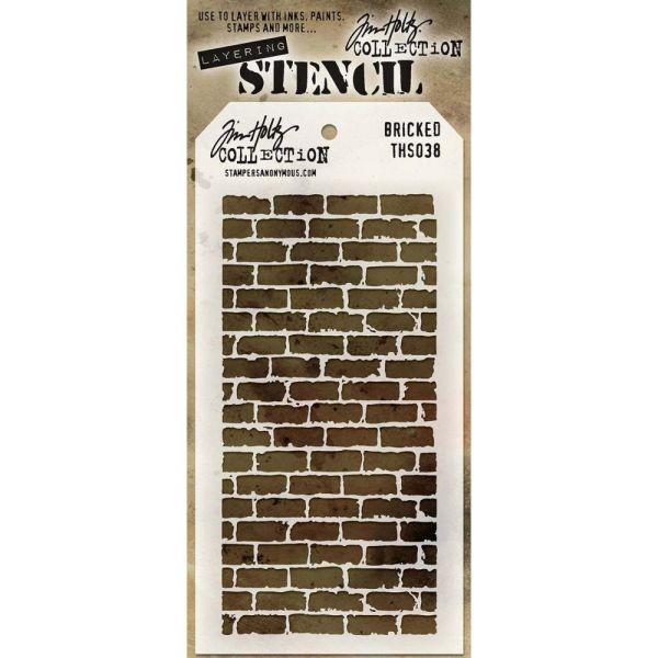 Tim Holtz Layering Stencils 038 Bricked
