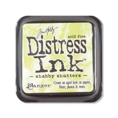 Distress Ink Mini Pad Shabby Shutters