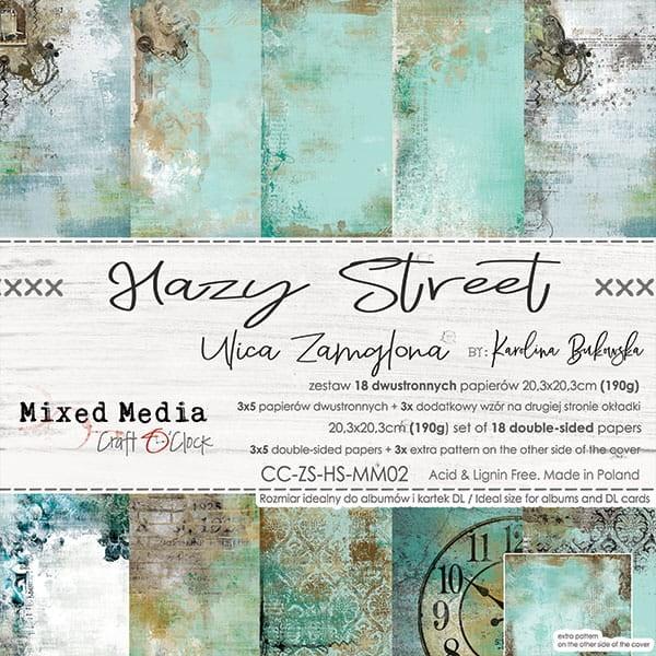 Craft o´Clock Hazy Street A Set of Papers 8x8