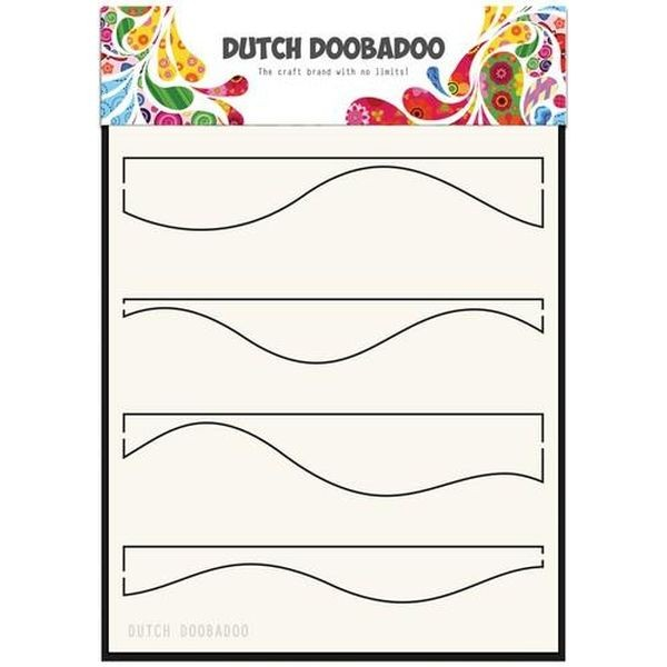 Dutch Doobadoo Mask Stencil A5 Waves