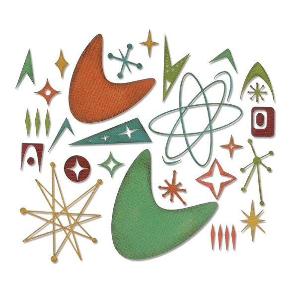 Tim Holtz Alterations Thinlits Atomic Elements