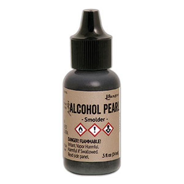 Tim Holtz Alcohol Pearl Ink Smolder