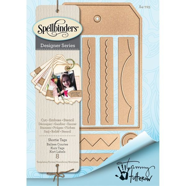 Spellbinders Shortie Tags