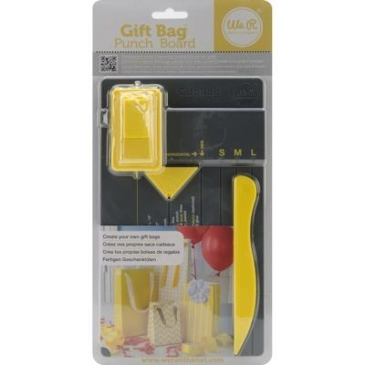 WeR Memory Keepers Gift Bag Punch Board