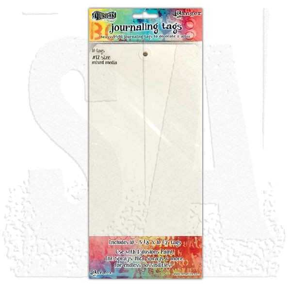 Dylusions Journaling Tags #12 Mixed Media