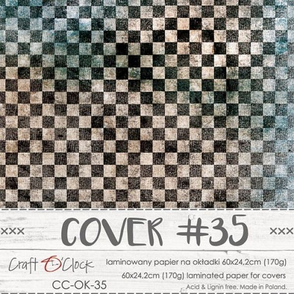 Craft o´Clock Specially Coated Paper Cover No. 35