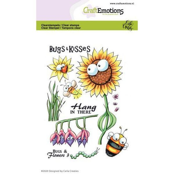Craft Emotions Clearstamps Bugs & Flowers III