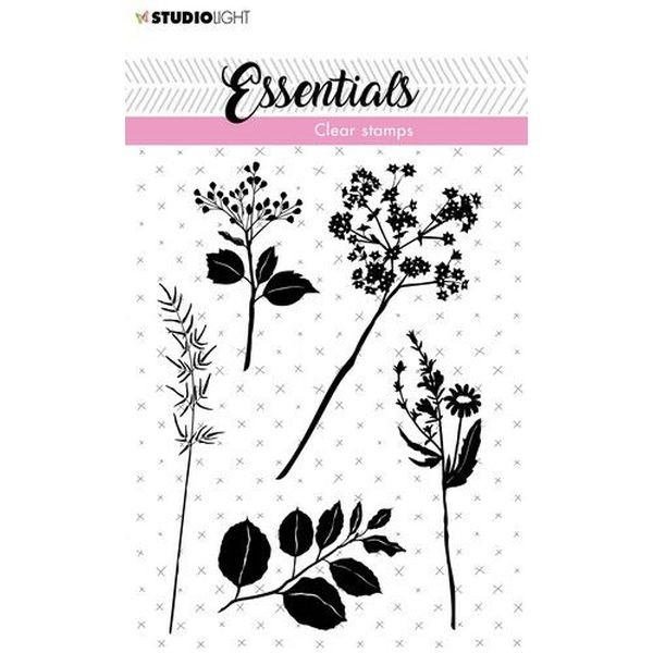 Studio Light Clearstamps A7 Essentials Flowers/Leaves No. 22