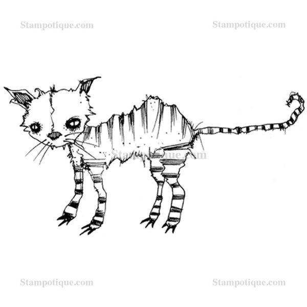 Stampotique Originals Kitty