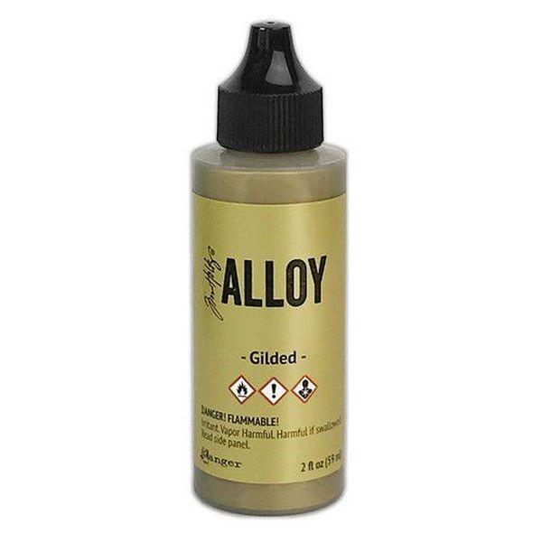 Tim Holtz Alcohol Ink Large Alloys - Gilded