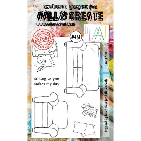 AALL & Create Clearstamps A6 No. 461 Have a Seat