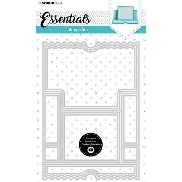 Studio Light Cutting Die Cardshape Essentials No. 14
