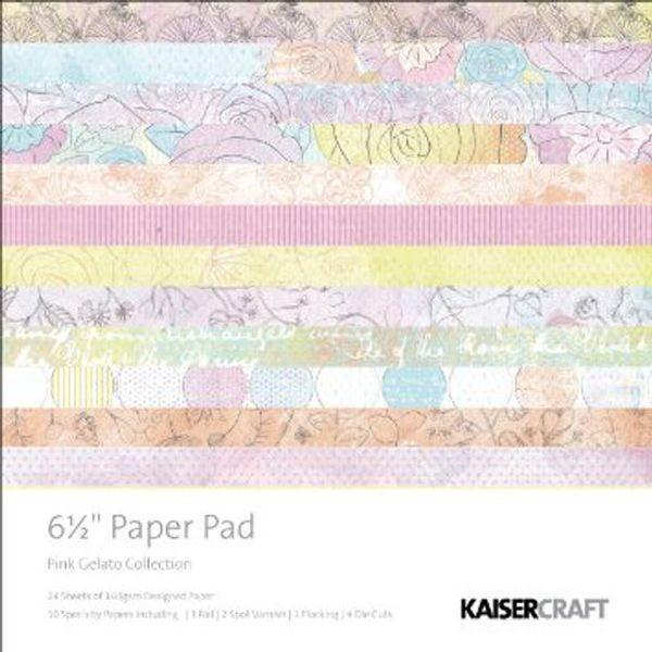 Kaisercraft Paper Pad 6.5 x 6.5 Pink Gelato