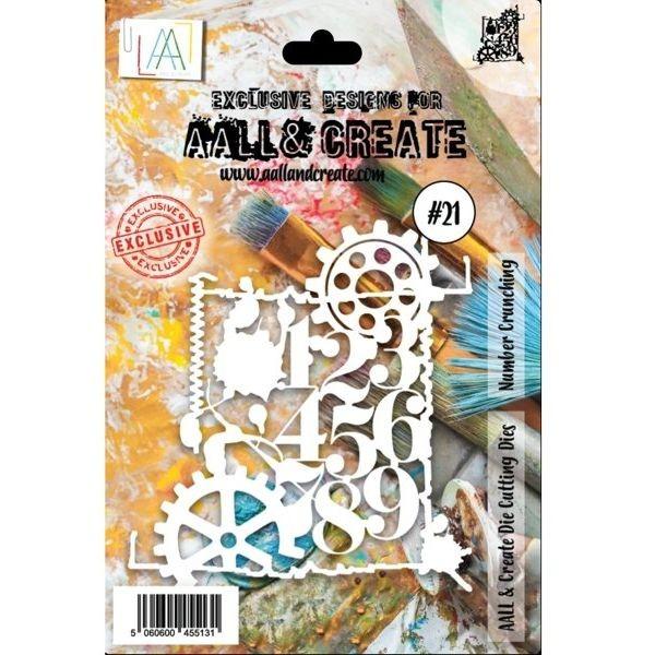 AALL & Create Die-Cutting Set #21 Number Crunching