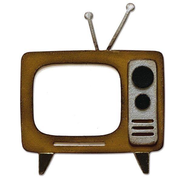 Tim Holtz Alterations Bigz Retro TV