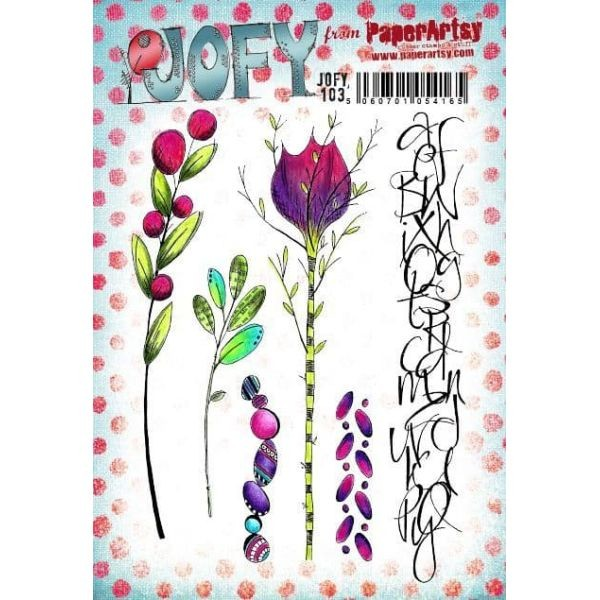Paper Artsy JOFY Plate 103