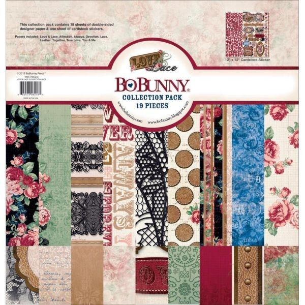 BoBunny Press Love & Lace Collection Pack