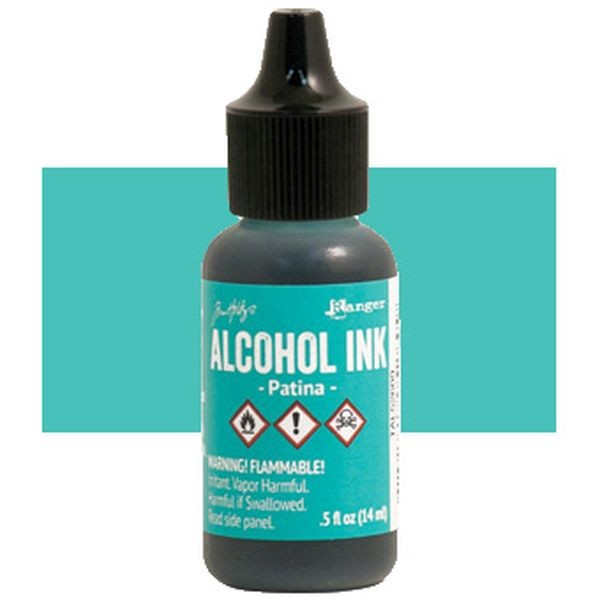 Tim Holtz Alcohol Ink Patina