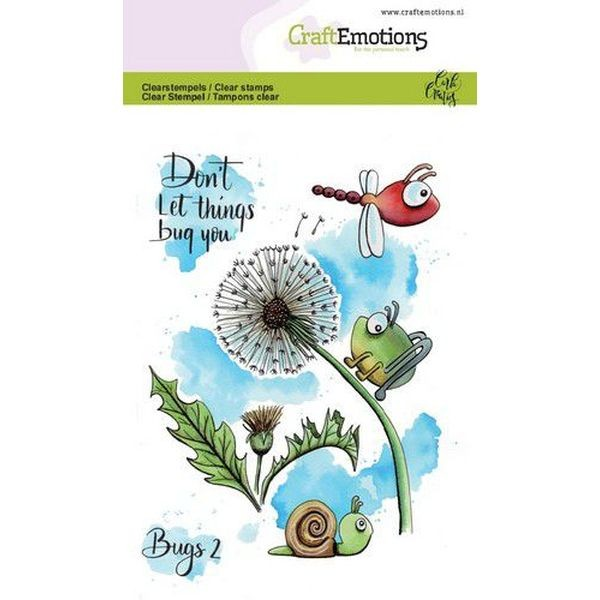 Craft Emotions Clearstamps Bugs No. 2