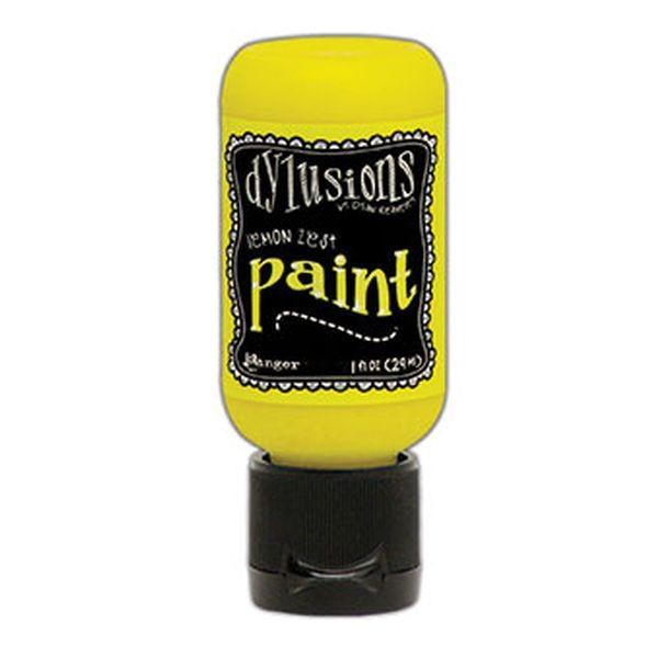 Dylusions Flip Cap Paint Lemon Zest