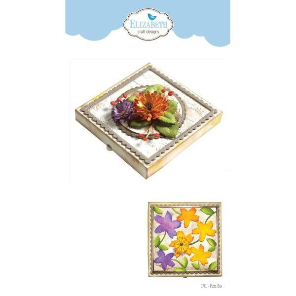 Elisabeth Craft Designs Die Pizza Box