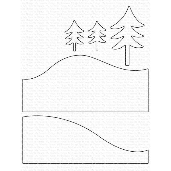 MFT Die-Namics Snowy Hillside