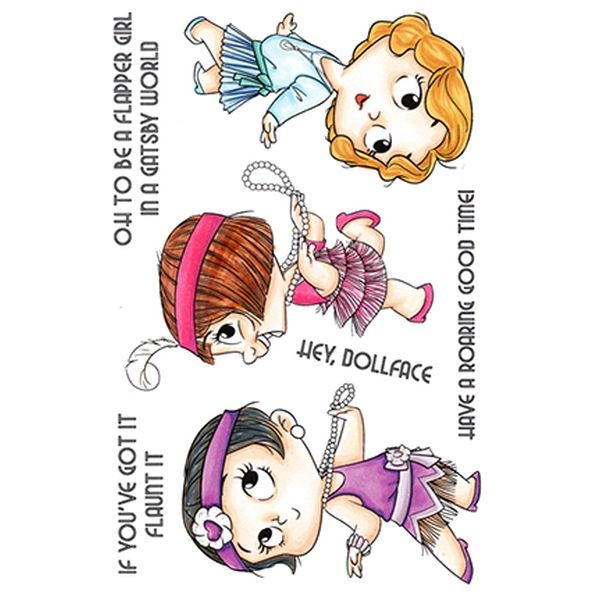 C.C. Designs Clear Stamps 20´s Gal
