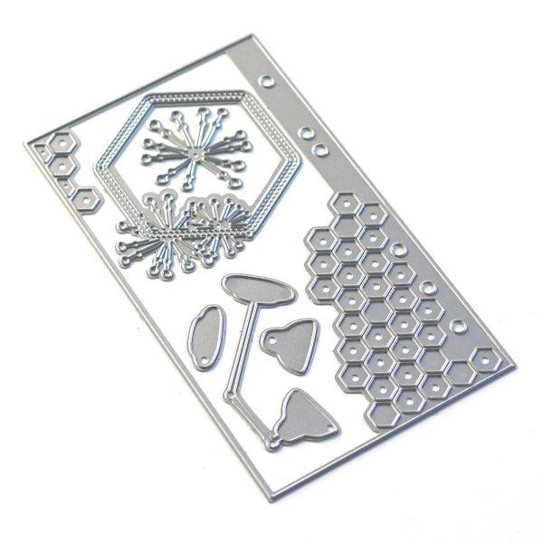 Elisabeth Craft Designs Sidekick Essentials 13 Hexagon Insert
