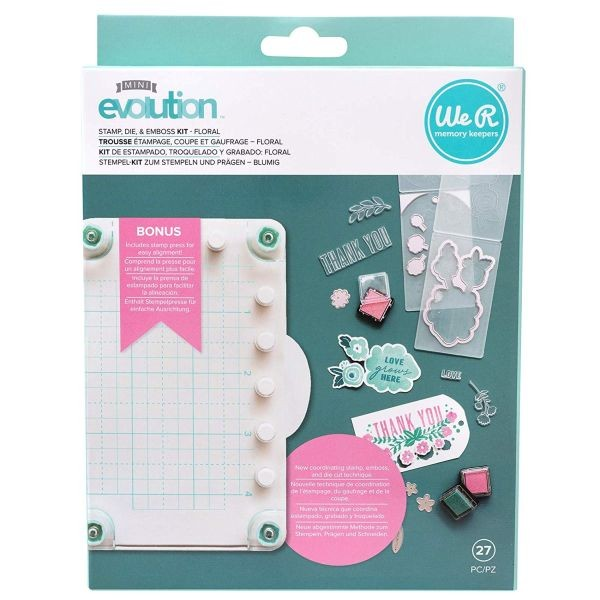 WeR Memory Keepers Mini Evolution Stamp & Die Bundle
