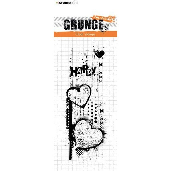Studio Light Clearstamps Grunge Collection No. 410
