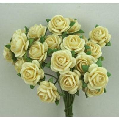 Roses Ivory 1 cm