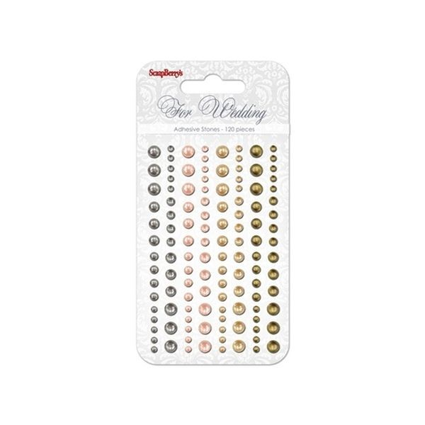 ScrapBerry´s Adhesive Pearls For Wedding I