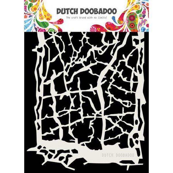 Dutch Doobadoo Mask Stencil A5 Grunge Lines