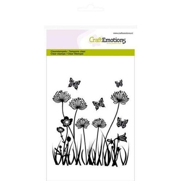 Craft Emotions Clearstamps Field Flowers