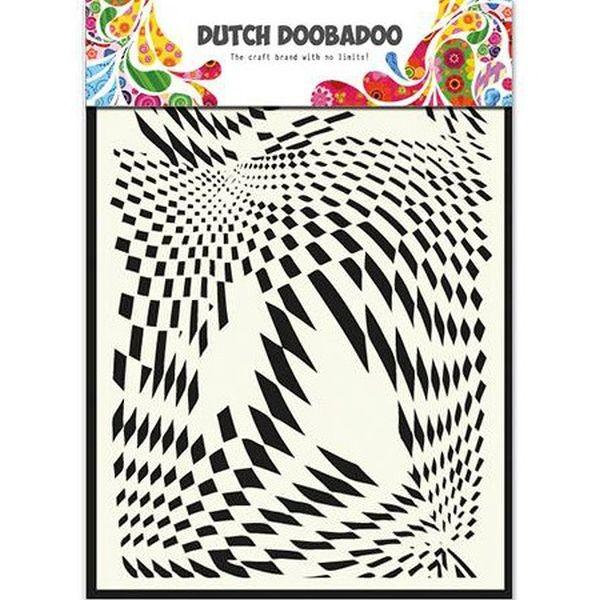 Dutch Doobadoo Mask Stencil A5 Pop Art