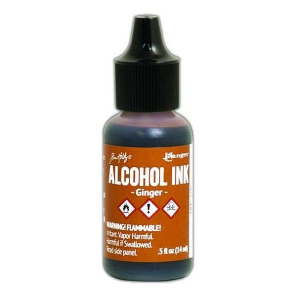 Tim Holtz Alcohol Ink Ginger