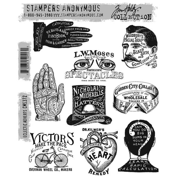 Tim Holtz Eclectic Adverts