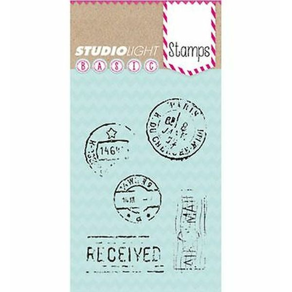 Studio Light Clearstamps A7 Basic 174