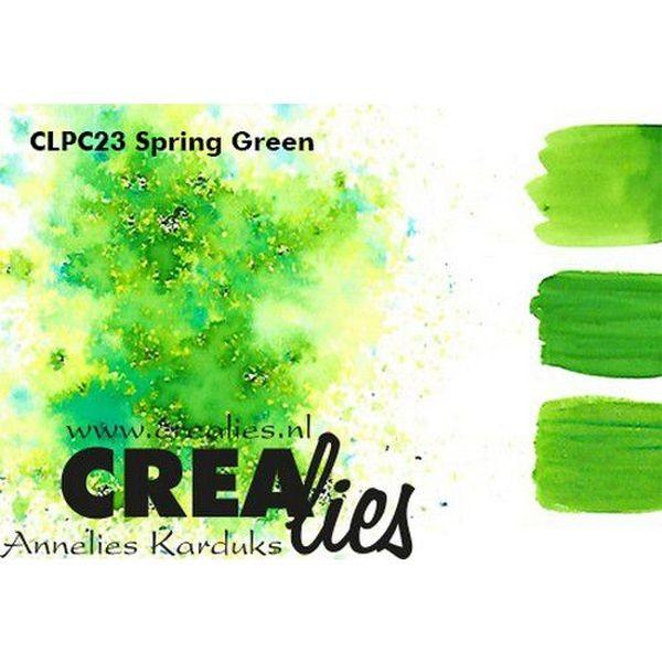 Crealies Pigment Colorzz Spring Green