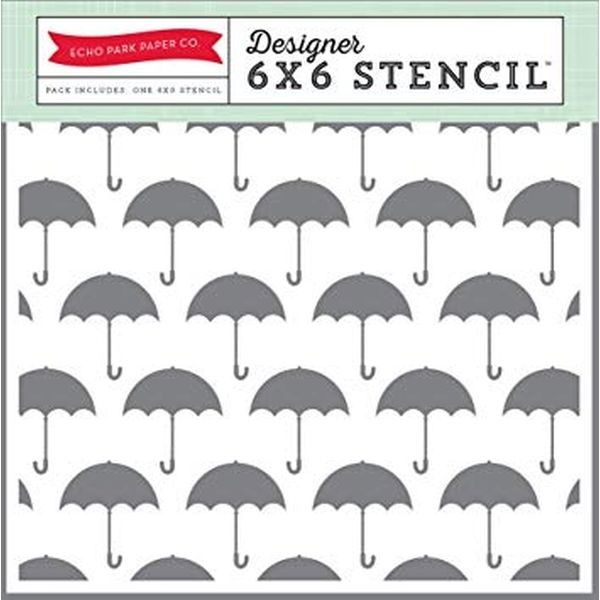 Echo Park Designer Stencil Umbrella
