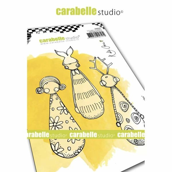 Carabelle Studio Tampon Art Stamp A6 Little Skittles